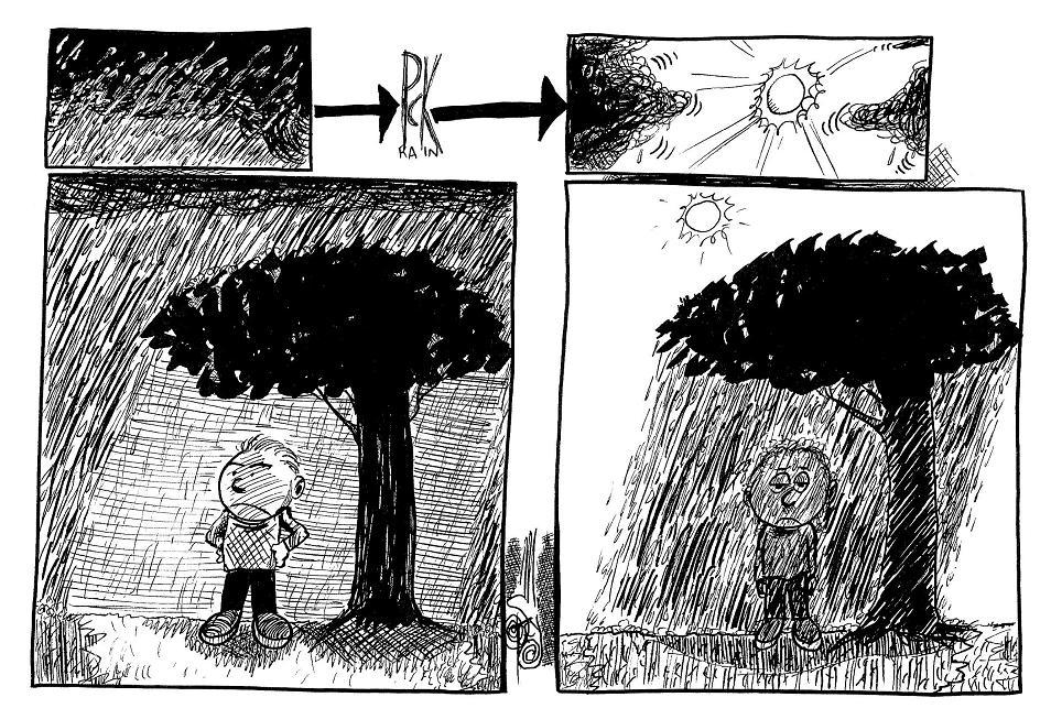 Murphy's Meteorological Law
