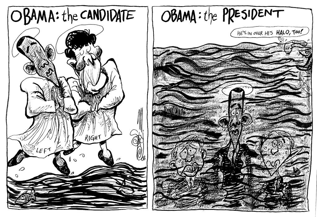 Editorial: He's Presidential, Alright... (2008)