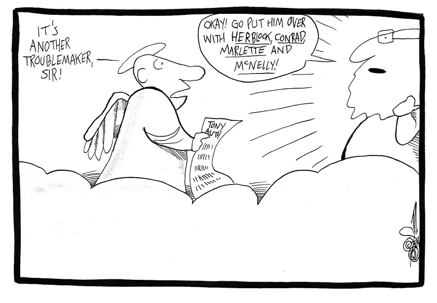 Editorial Cartoonist Tony Auth, RIP