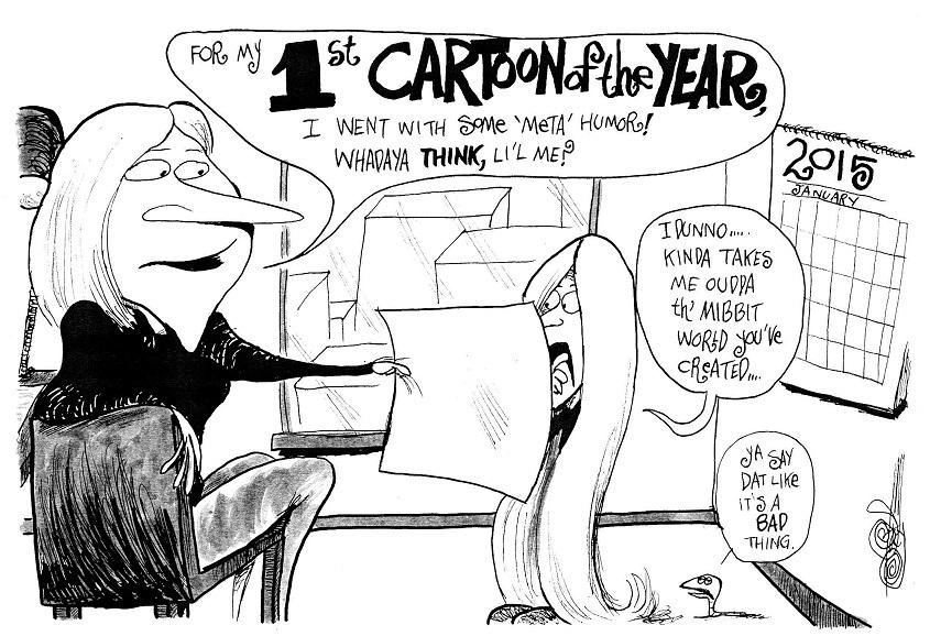 First Cartoon of 2015!